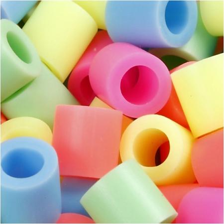 strijkkralen pastelkleuren 1000 stuks
