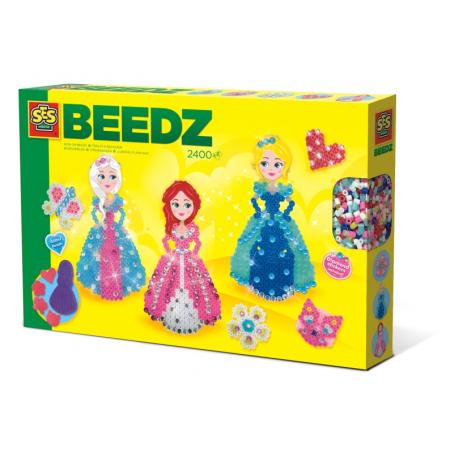 strijkkralenset Beedz Prinsessen 2400 stuks